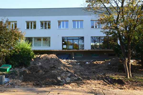 Ogromna przebudowa schodów w Regionalnym Szpitalu w Kołobrzegu.