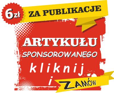 tylko 6 zl za publikacje artykuł sponsorowany. Tania reklama Kołobrzeg i nie tylko