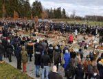 Uroczystości pogrzebowe w Koszalinie. Pochowano pięć tragicznie zmarłych nastolatek
