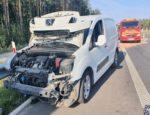 Sprawca kolizji na S6 uciekł z kołobrzeskiego szpitala. Boi się odpowiedzialności?