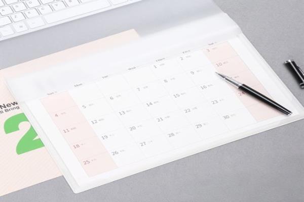Dlaczego warto korzystać z notatników z kalendarzem?
